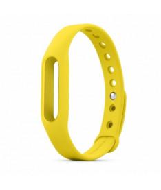 Ремешок для браслета Xiaomi Mi Band Yellow ORIGINAL 1144600002