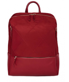 Рюкзак RunMi 90GOFUN Fashion city Lingge shoulder bag Red