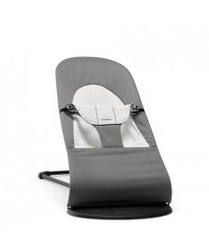 Шезлонг-качалка BabyBjorn Balance Soft, темно-серый/джерси