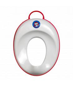 Сидение на унитаз BabyBjorn Toilet Trainer, белоснежное с красным