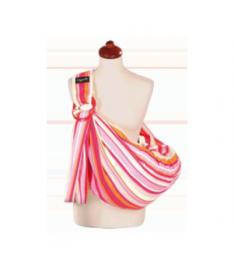 Слинг Womar Zaffiro 16 (красный с розовым в полоску)