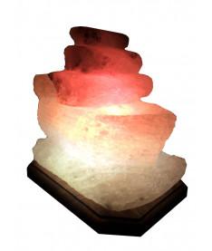 Солевая лампа, светильник Кораблик 3-4 кг