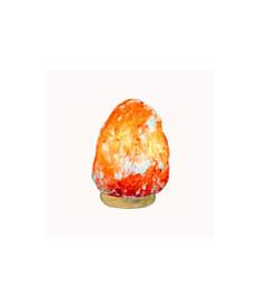 Соляная лампа Скала на деревяной подставке (2-3 кг.)(Пакистан)
