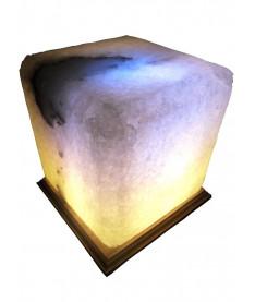 Соляная лампа, светильник Квадрат 6-7 кг.