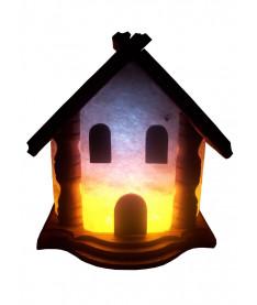 Соляной светильник Домик 5-6 кг
