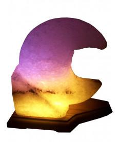 Соляной светильник Месяц 3-4 кг
