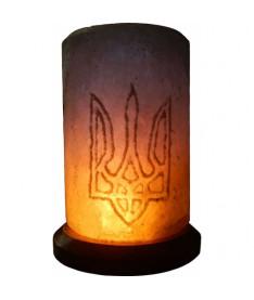 Соляной светильник Свеча с Гербом Украины 6 кг