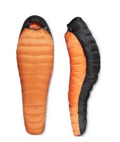 Спальник Trimm NORDIC orange/dark grey 195 L