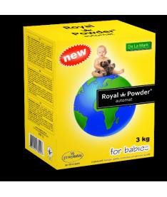 Стиральный порошок DeLaMark Royal Powder Baby, 3кг