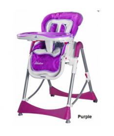 Стульчик для кормления Caretero Bistro (purple)