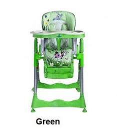Стульчик для кормления Caretero Magnus Fun (green)