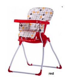 Стульчик для кормления Caretero Practico (red)