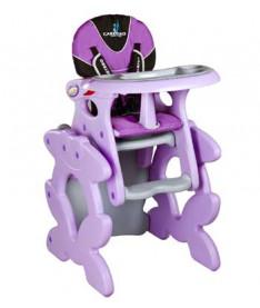 Стульчик для кормления Caretero Primus (purple)