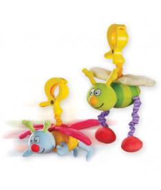 Taf Toys Игрушка-подвеска на прищепке - ЖУЖУ (в ассорт. дрожащие дрожащие бабочка и пчёлка)