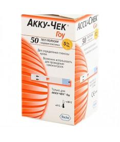 Тест-полоски Accu-chek Go Glucose (50 шт.)