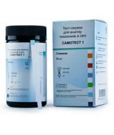 Тест-полоски для определения глюкозы, pH и белка Самотест 50