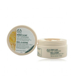 The body shop Honey&ampOat 3-in-1 Scrub Mask скраб-маска для лица &quotМед и овес&quot