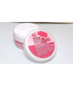 The body shop Wild Rose Nourishing Hand Butter масло для рук