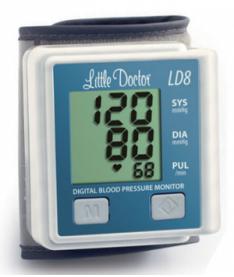 Тонометр автоматический на запястье Little Doctor LD8 (Сингапур)