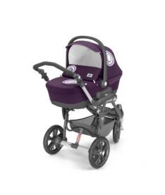 Универсальна коляска 2 в 1 Cam Cortina X3 Duetto Evolution, фиолетовый