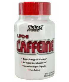 USA Nutrex White Label LIPO 6: CAFFEINE  60 капс