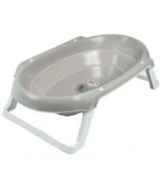 Ванночка детская для купания OK Beby Onda Slim серая