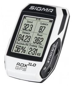 Велокомпьютер Sigma Sport ROX 11.0 GPS WHITE SET