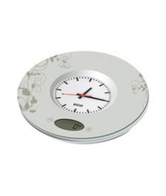 Весы-часы кухонные электронные MYSTERY MES-1813