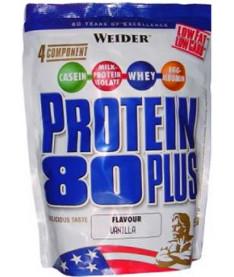 WEIDER Protein 80+  500 g пакет