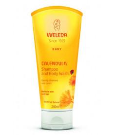 Weleda Шампунь-гель для тела и волос Weleda (Calendula Waschlotion &amp Shampoo) 200 ml