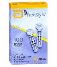Abbott Safety Lancet, 28G, 1.5 mm Ланцеты для индивидуального использования, 100 шт