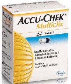 Accu-Chek Multiclix Ланцеты 24 шт