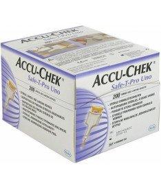 Accu-Chek Safe-T-Pro Uno Система для прокалывания 200 шт