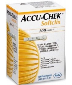 Accu-Chek Softclix Ланцеты 200 шт
