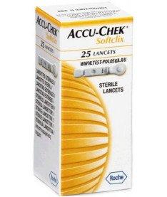 Accu-Chek Softclix Ланцеты 25 шт