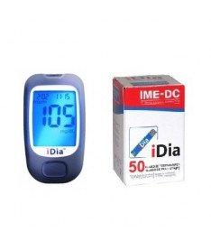 Акционный комплект! Глюкометр IME-DC IDIA+тест полоски IME-DC IDIA 50