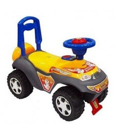 Alexis-Babymix 7600 (yellow)  Машинка-каталка