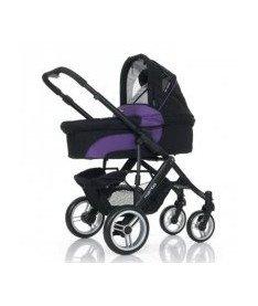 АВС Универсальная коляска 2 в 1 &ampquotMAMBA Purple-black черный с фиолетовым