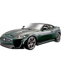 Авто-конструктор Bburago (1:24) Jaguar XKR-S (18-25118) Темно-зеленый