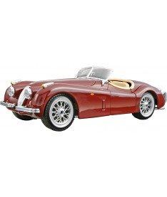BburagoBijoux JAGUAR XK 120 (1951) (ассорти вишневый,серебристый,1:24) Автомодель (1:24)