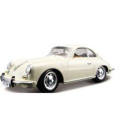 BburagoBijoux PORSCHE 356B (1961) (ассорти слоновая кость,красный,1:24) Автомодель (1:24)