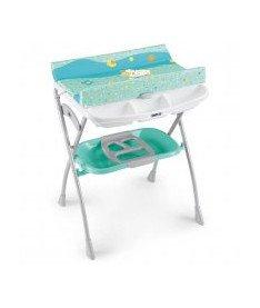 CAM Столик для пеленания VOLARE бирюзовый с рисунком