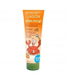 Детская зубная паста апельсиновая 119г, Jason(США)