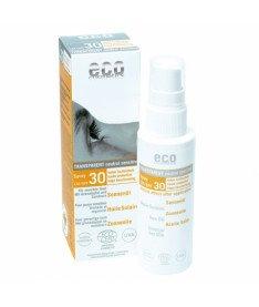 Eco cosmetics Солнцезащитное масло SPF 30 с экстрактом граната и облепихи, 50 мл