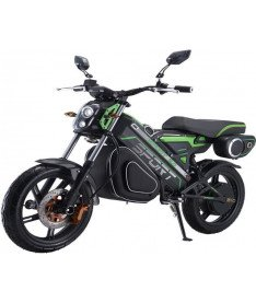 Электроскутер ROVER Impulse Black-green