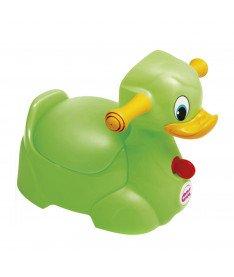 Горшок детский OK Baby Quack салатовый