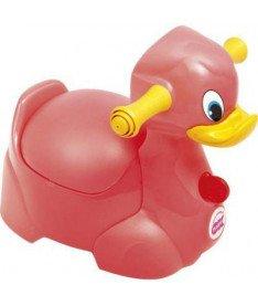 Горшок детский OK Beby Quack красный