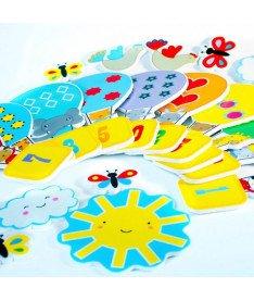 Игровой набор стикеров для ванной Веселый счёт Meadow Kids (MK 180)