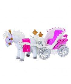 Интерактивная карета с движущейся лошадкой Zapf для куклы BABY BORN, СКАЗОЧНАЯ ПОЕЗДКА