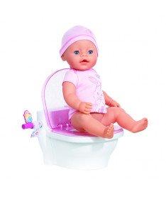Интерактивный унитазик для куклы BABY BORN Zapf ПЕРВЫЙ ГОРШОЧЕК